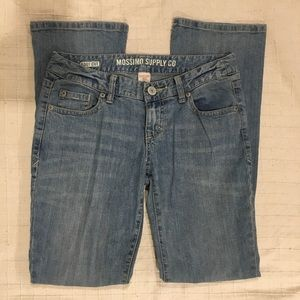 Mossimo Denim Bootcut Jeans 3s Fit 6